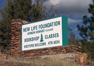 New Life AZ Highway 87 Sign